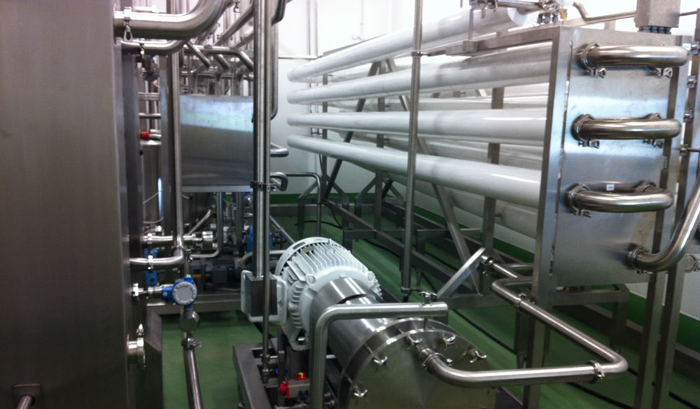 Egg pasteurisation - General view of the new process